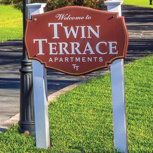 Twin Terrace Welcome
