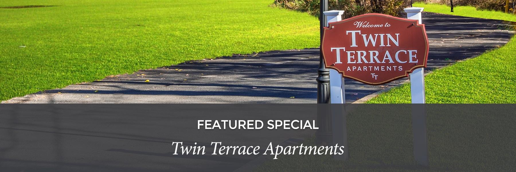 Twin Terrace Apartments specials